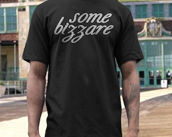 Some Bizzare records   T shirt screen print short sleeve     shirt cotton