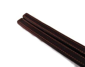 Tawse, Leather Tawse, 2 Finger Tawse, Leather Paddle
