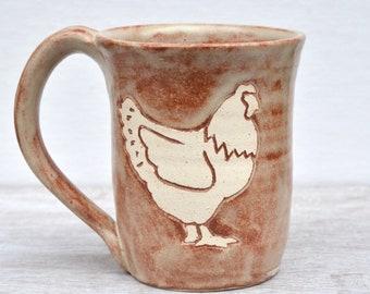 Chicken Mug in Chai
