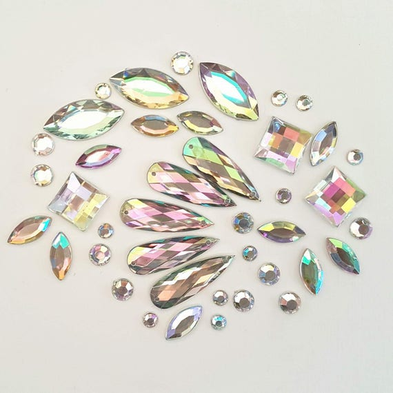 Loose gems for diy bling designs do it yourself bling cluster face loose gems for diy bling designs do it yourself bling cluster face painting gems party festival holographic shiny sparkle pretty face rave solutioingenieria Image collections