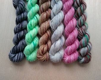 HOUSE HUNTERS Themed Mini Skein Set!