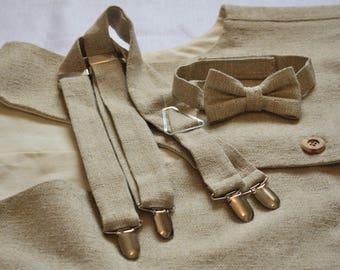 Adult Tweed Linen Waistcoat