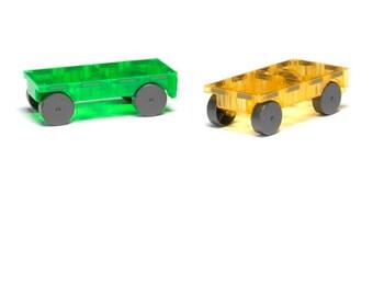 Magnatile 2 Pc Car Expansion Set