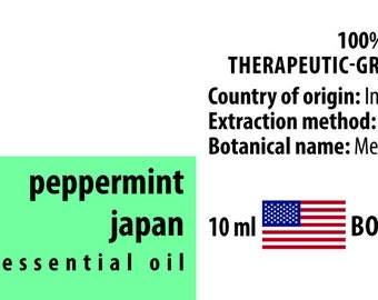 Peppermint 100% Essential Oil from Japan 10ml