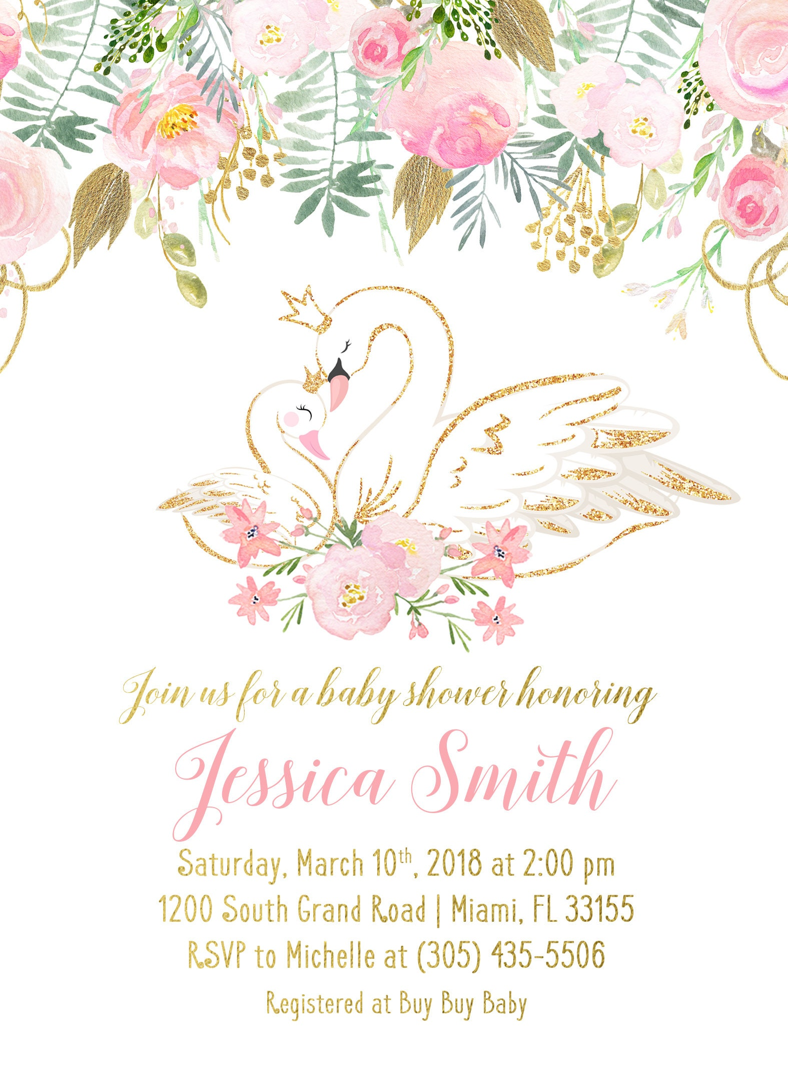 gold glitter pinbrowser baby shower pink invitations and invitation ba black