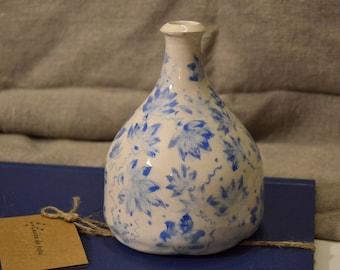 Hand-decorated vase