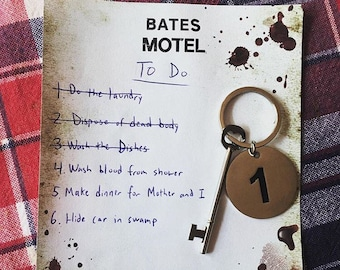 SECONDS Bates Motel Room Key (w/ minor scratches)