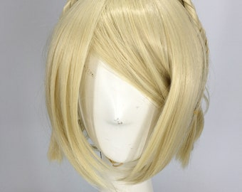 Final fantasy XV Luna Cosplay full hair wig