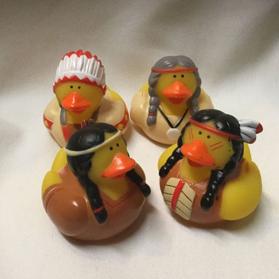 Native American Rubber Ducks 4 Rubber Duckie party