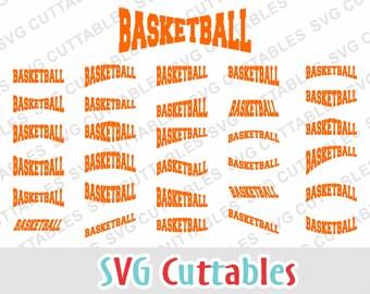 Basketball svg, basketball Layouts, svg, eps, dxf, basketball team, cut file, Silhouette file, Cricut cut file, digital download
