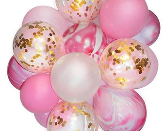 Set of 10 balloons.