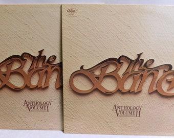 The Band Anthology Vol. 1 & 2 (2 records) - Vintage Vinyl Record Album 1978 SN-16010 16011 EXC/EXC