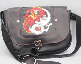 Dueling Dragons Messenger Bag EM03