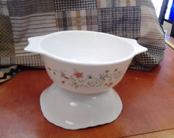 On Sale Discontinued Pyrex Corning Floral Dish