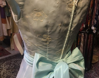 Baby blue prom dress sweetie of the 1950s