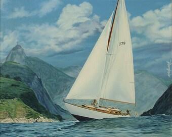 Bahia // Giclee on Canvas