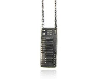 Midi Keyboard Necklace