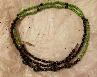 Green Takeover Waistbeads