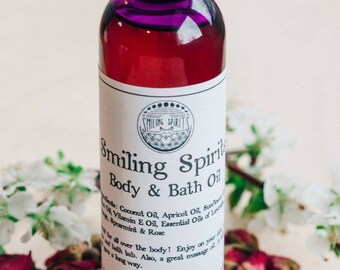 Body + Massage + Bath Oil
