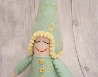 summer elf, pixie, gnome.