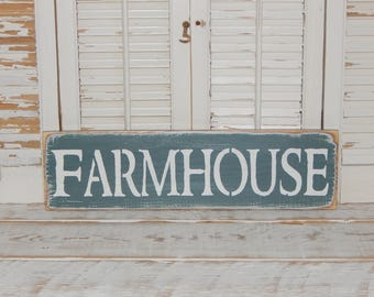 Farmhouse Sign Primitive Rustic Country Home Decor Ready To Ship