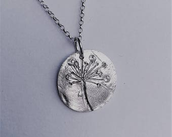 Allium necklace