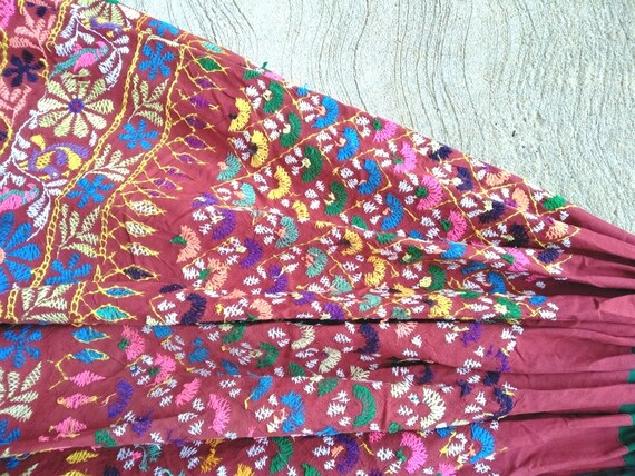 Skirt Gypsy GD Vibes Vintage Modified Skirt Women Embroidery Stytle Bohemian Hand Rabari Tribal Ethnic Antique Clothing 125 Banjara qRwvfqz