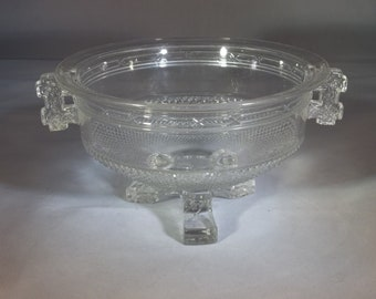 laBelle glass footed bowl