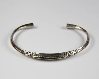 Tuareg Berber silver - ethnic jewelry bracelet niger burkina faso - handcrafted - handmade
