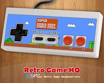 NES - Super Mario Bros. - Controller Overlay (Controller Not Included)