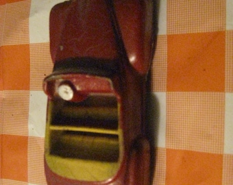 1940's Vintage Arcade Safe Play Toys Rubber Sedan Car