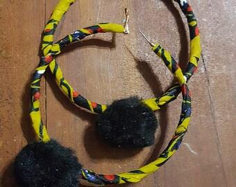 The Stinger big hoop earrings
