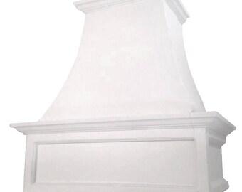 "Cast Stone Kitchen Vent Hood/Range Hood 30"" w x 30"" h (fits 8-foot ceiling) Kitchen Exhaust ROMAN"