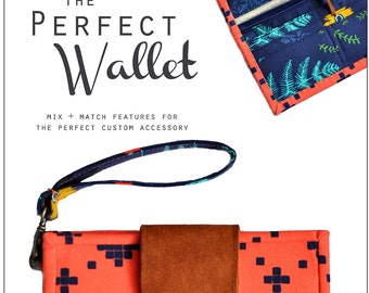 PDF Sewing Pattern / The Perfect Wallet