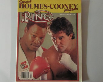 The Ring Magazine Speical 1982 Holmes/Cooney