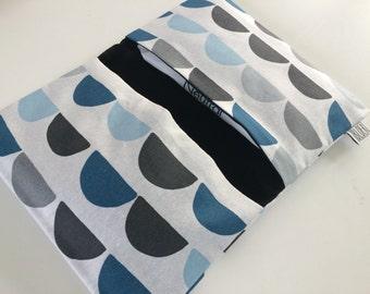 Baby Diaper pouch/diaper pouch blue/Blue