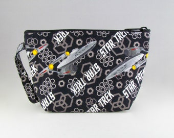 Star Trek Makeup Bag - Accessory - Cosmetic Bag - Pouch - Toiletry Bag - Gift