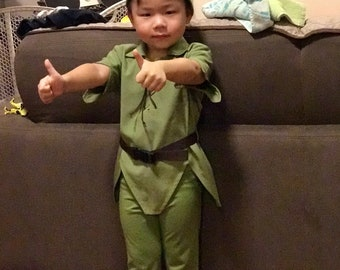 Peter Pan Pants for Toddlers,Teens, and Adults- Peter Pan Costume Pants, Green Costume Pants