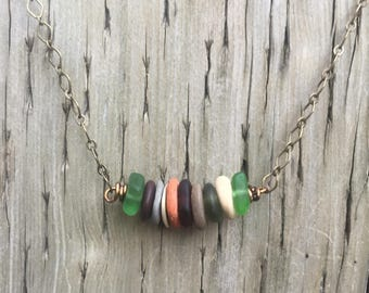 Evergreen Sandbar Necklace