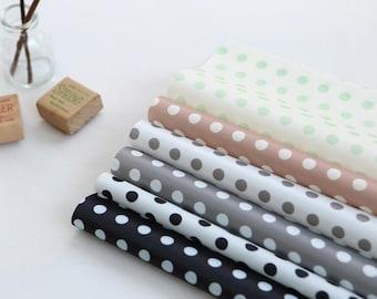 "Waterproof fabric by the yard  Classical dot_59"" SAM 153700"