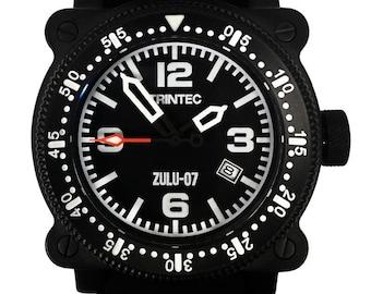 Trintec ZULU-07 PRO Watch / Black / Automatic