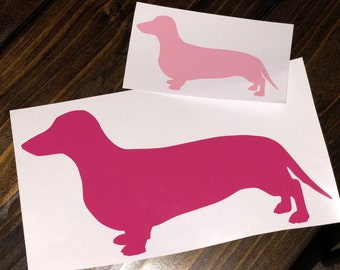 Dog Breed Silhouette Decal | Choose Your Breed of Dog | Add a Name!