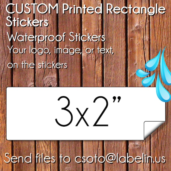 ... Custom Waterproof Stickers, Waterproof labels, Outdoor Durable Labels  ...