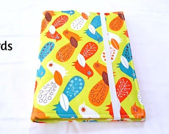 Modern List Taker Organizer Coupon Holder Notepad Clutch - You Pick the Pattern