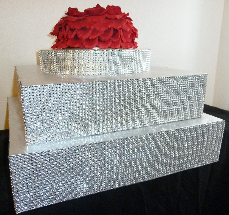 sheet cake stand
