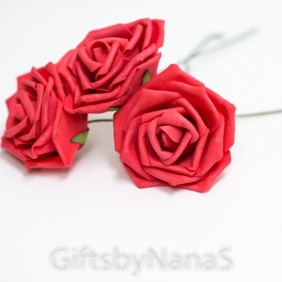 Red foam roses 15pc guava red roses bulk silk flowers cheap silk red foam roses 15pc guava red roses bulk silk flowers cheap silk flowers watermelon roses cheap real touch flowers artificial flowers from mightylinksfo