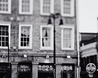 new orleans art magnolia praline co french quarter photography black and white home decor architecture art