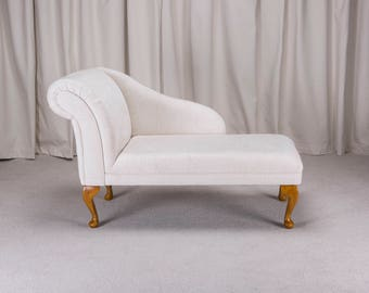 "45"" Chaise Longue in a Woburn Oyster Fabric"