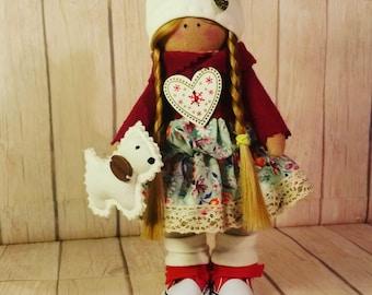Doll fabric