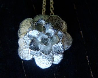 Sedum Rosette Necklace